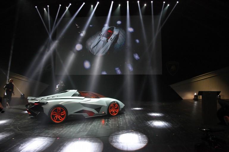 Lamborghini Egoista Concept Design