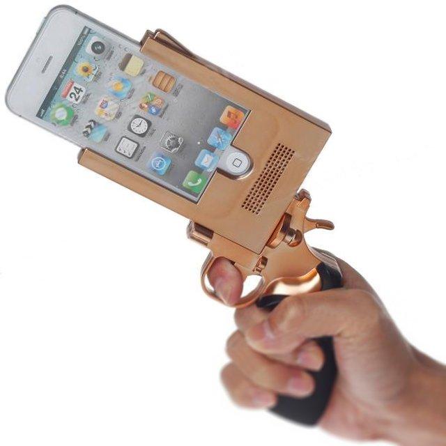 Cool Pistol iPhone 5 Case