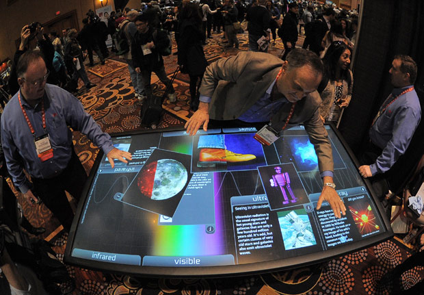 Big Touch Screen