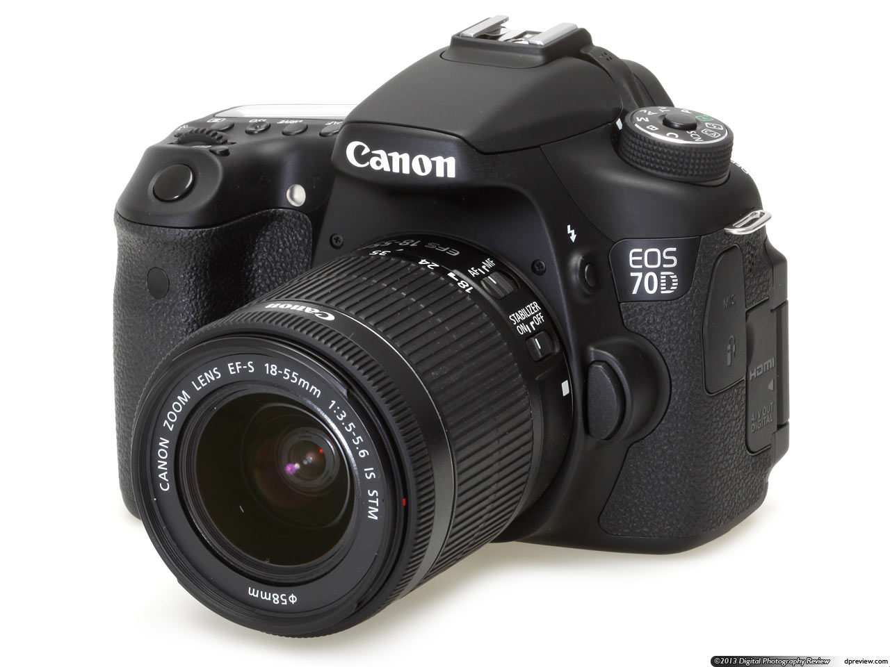 Canon EOS 70D, a DSLR that will change the way we shoot movies