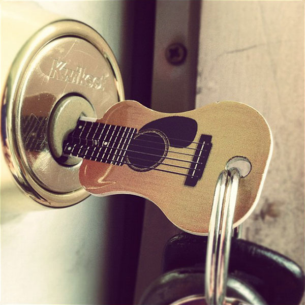 Acoustic Guitar Key by Rockin' Keys