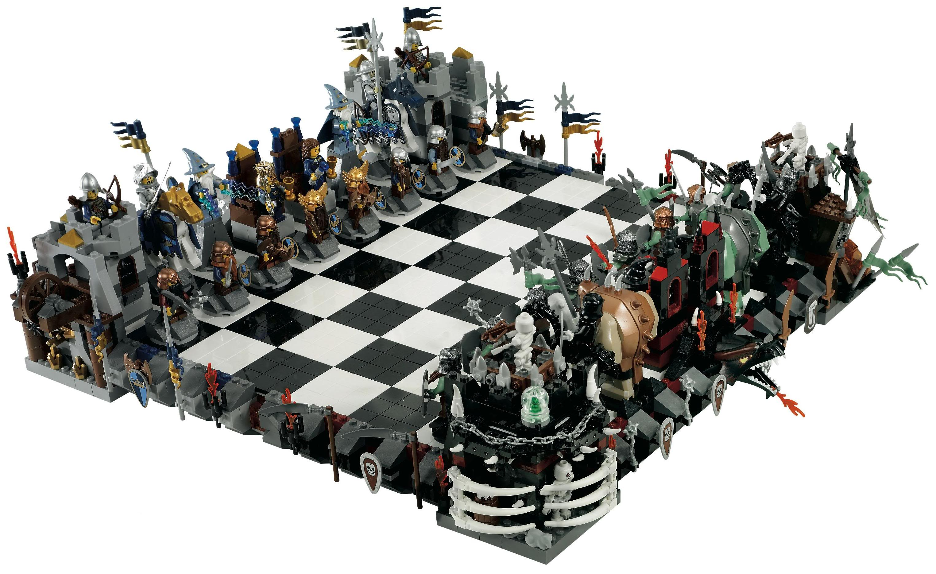 Lego Lord Of The Rings Chess Set 4