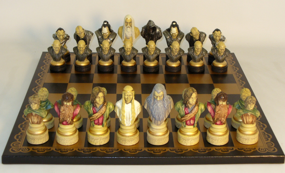 Lord Of The Ring Chess Set