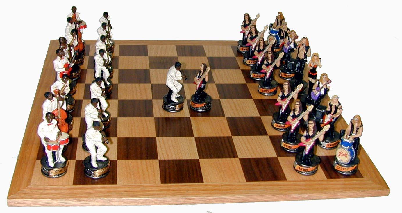 Rock Music Chess Set