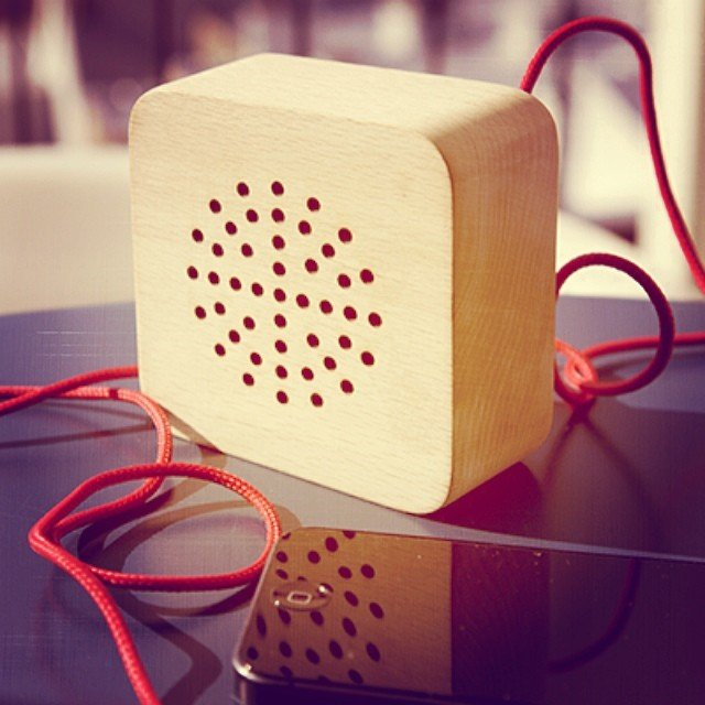 Portable Wood Speaker @ $50