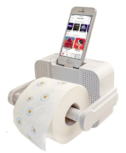 iCarta Stereo/Dock/Bath Tissue Holder