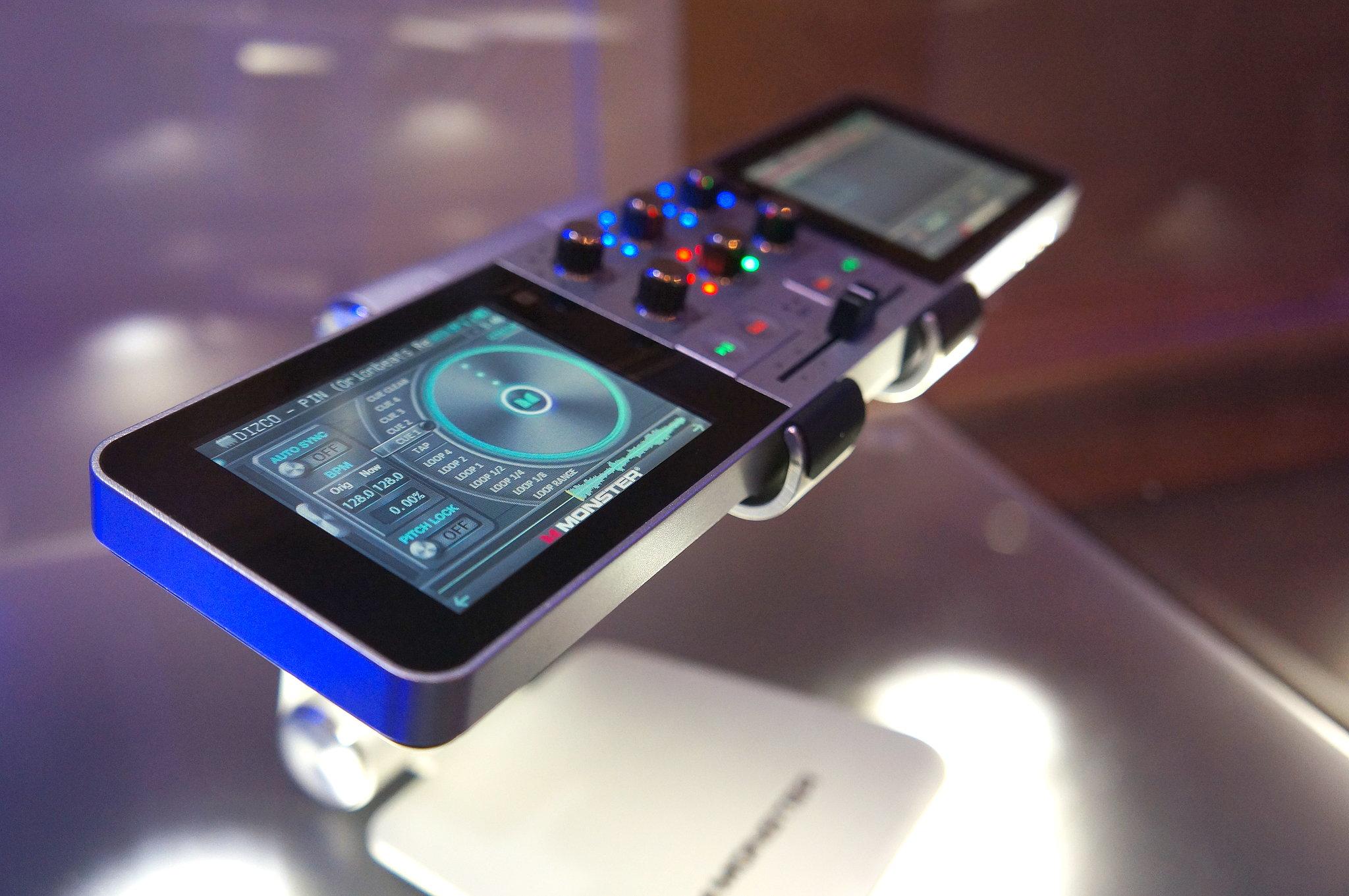 Monster Go DJ Portable Mixer