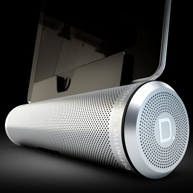 A Sound Cylinder Portable Speaker With Personality