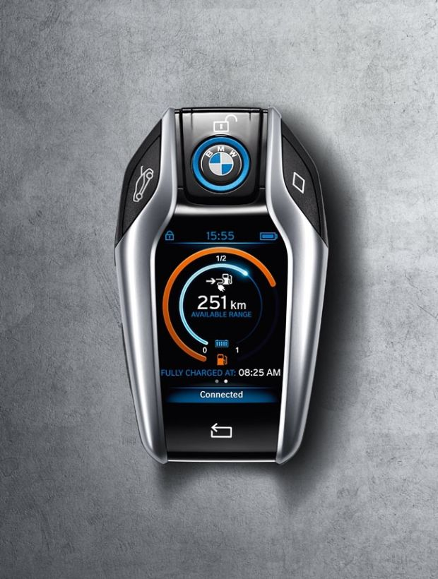 BMW i8 Key is a game changer