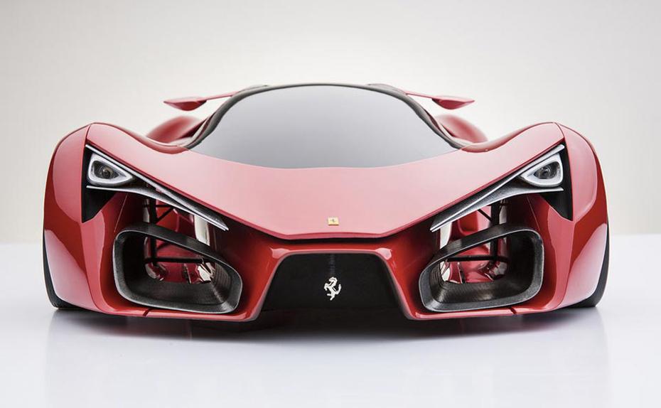 Ferarri F80 Supercar Concept Design