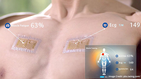 Temporary electronic tattoos