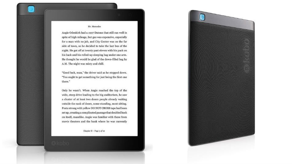 Kobo Aura One is a water resistant eBook reader