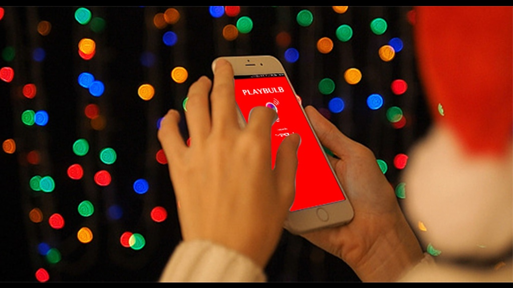 PlayBulb String The Best Outdoor Holiday Lights from MiPow