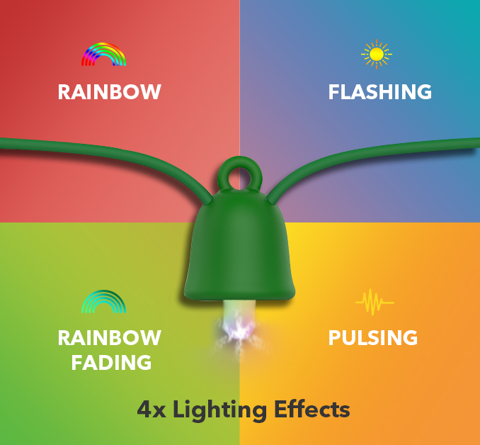 MiPow's PlayBulb String – The Best Outdoor Holiday Lights