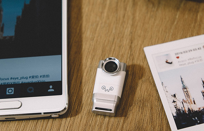 Capture 3D videos with your smartphone with Weeview's Eye-Plug
