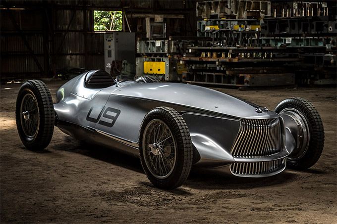Infiniti Prototype 9: This all-electric Infiniti roadster is far too classy