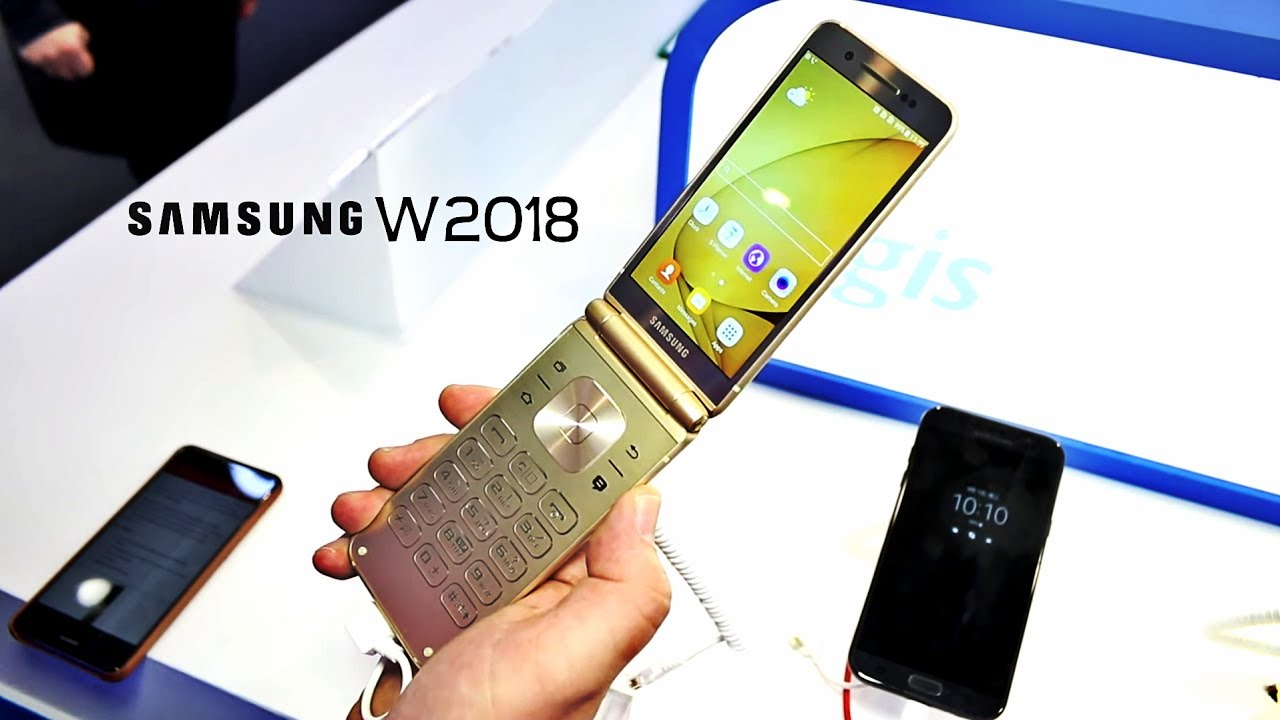 Samsung W2018 Flip Phone – Back to the future