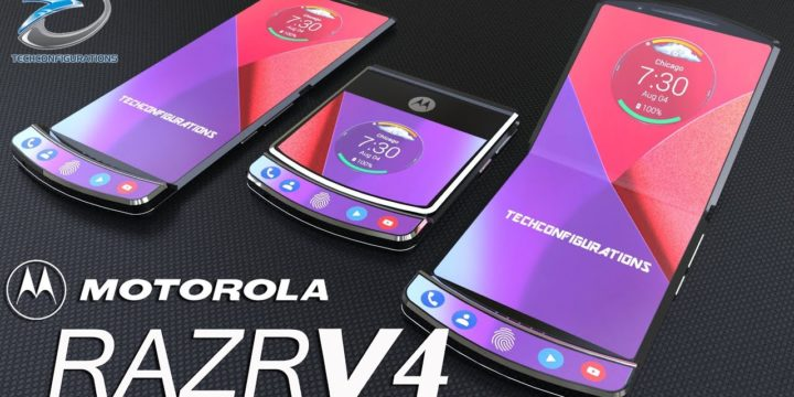 Motorola prepares a RAZR successor that will feature a foldable screen